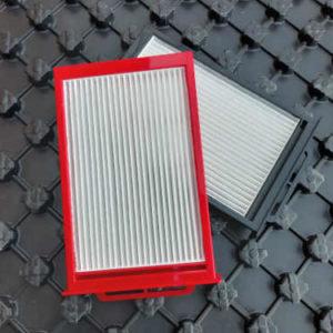 Contenuto del set 1 coppia di filtri